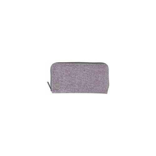 Mi-Pac Geldtasche MI-PAC - Zip Purse Herringbone Lilac (021)