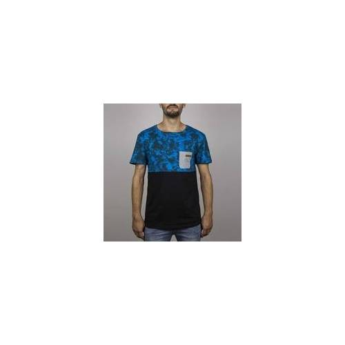 Hydroponic Tshirt HYDROPONIC - Madison Ss Blue Stain-Black (BLUE STAIN-BLACK ) Größe: M