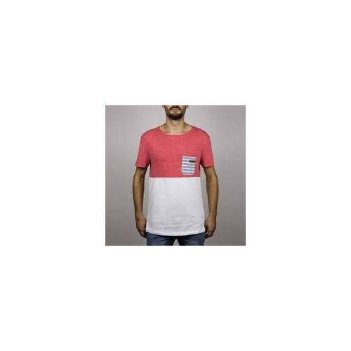 Hydroponic Tshirt HYDROPONIC - Madison Ss Heather Red-White (HEATHER RED-WHITE )
