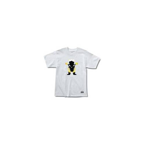 GRIZZLY Tshirt GRIZZLY - Grizzly X Ghost Rider White (WHITE) Größe: S