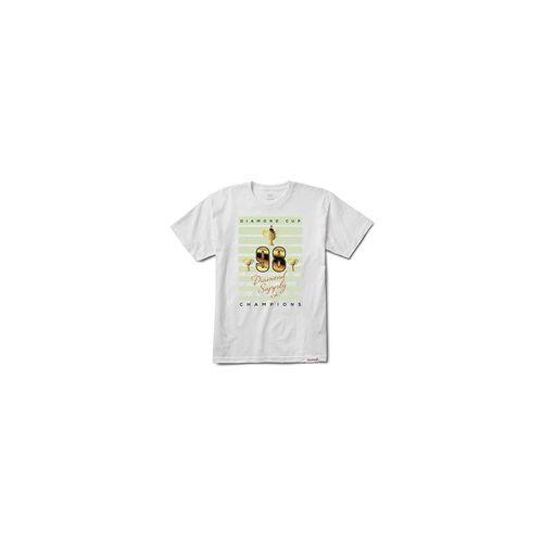 Diamond Tshirt DIAMOND - Diamond Cup Tee White (WHT)