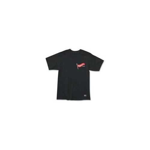 GRIZZLY Tshirt GRIZZLY - Flag Pole Ss Tee Blk (BLK) Größe: M