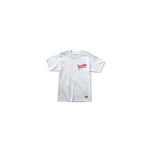 GRIZZLY Tshirt GRIZZLY - Flag Pole Ss Tee Wht (WHT) Größe: M