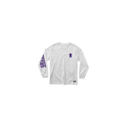 GRIZZLY Tshirt GRIZZLY - Mini Bear Ls Tee Whrl (WHRL)