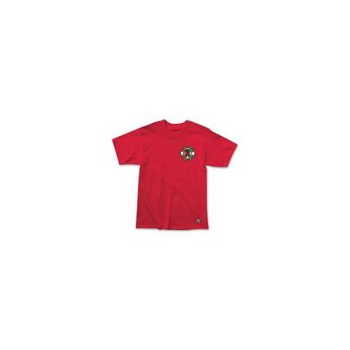 GRIZZLY Tshirt GRIZZLY - Most High Tee Red (RED)