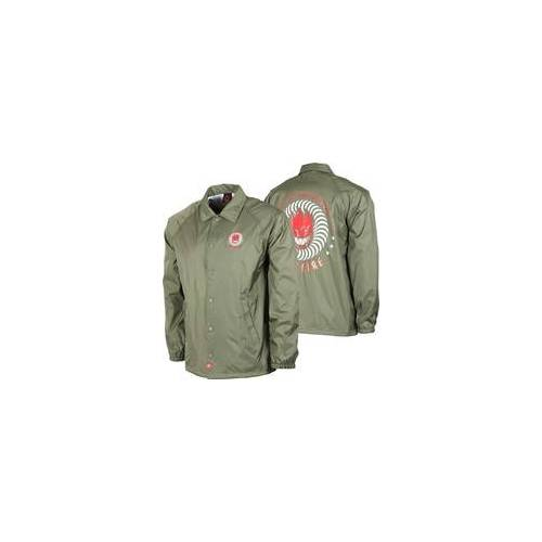 Spitfire Jacke SPITFIRE - Ktul Army Grn/Red/Wht (ARMY GRN-RED-WHT)