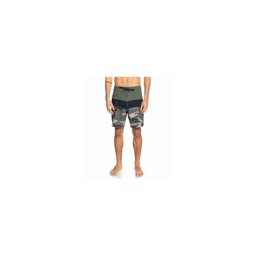 QUIKSILVER Badehose QUIKSILVER - Surfs Panel 18 Thyme (CQY6)
