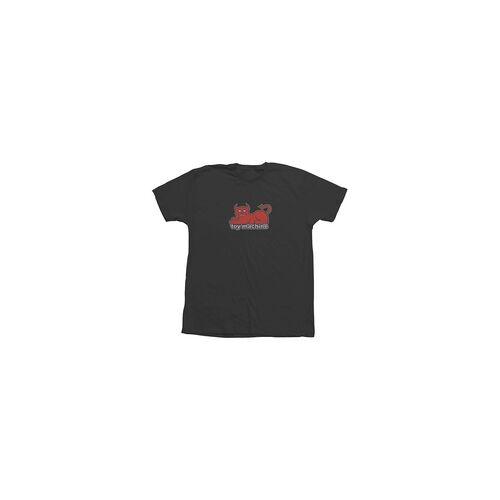 Toy Machine Tshirt TOY MACHINE - Tm Devil Cat 2019 90S Tee Blk (BLK)