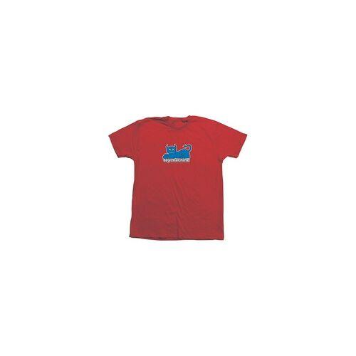 Toy Machine Tshirt TOY MACHINE - Tm Devil Cat 2019 90S Tee Red (RED)