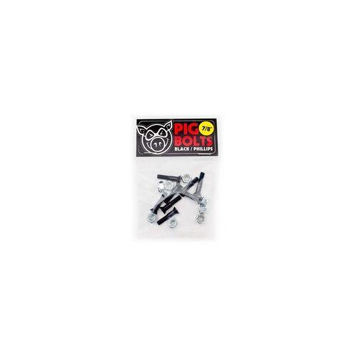 Pig Wheels Schrauben PIG WHEELS - Black 1in Phillips 10 Pack (MULTI)