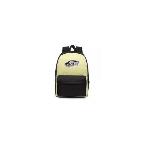 Vans Rucksack VANS - Realm Backpack Lemon Tonic Checkerboard (VD7)