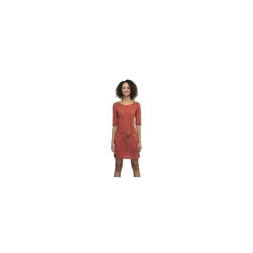 Ragwear Kleid RAGWEAR - Tanya Slub Terracotta (TERRACOTTA) Größe: S