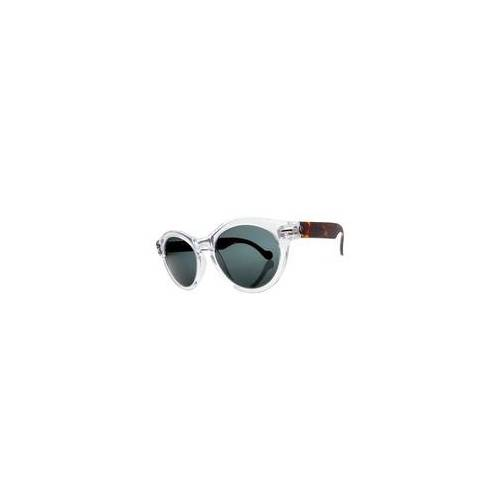 Electric Sonnenbrille ELECTRIC - Potion Tort Crystal/M Grey + case (TORT CRYSTAL)