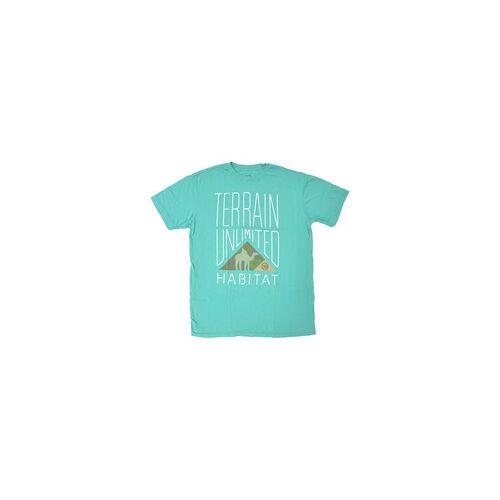 Habitat Tshirt HABITAT - Camel Corps Teal (MODRA)
