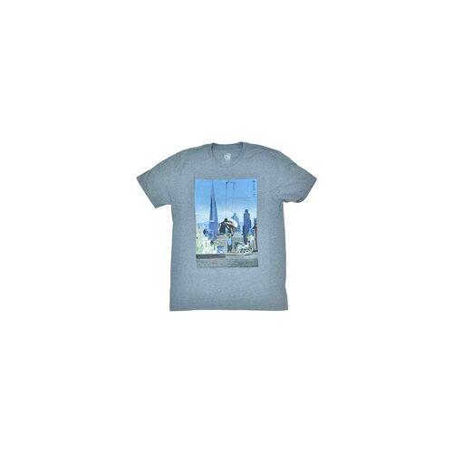 Habitat Tshirt HABITAT - Skyline Hthr Gray (SEDA)