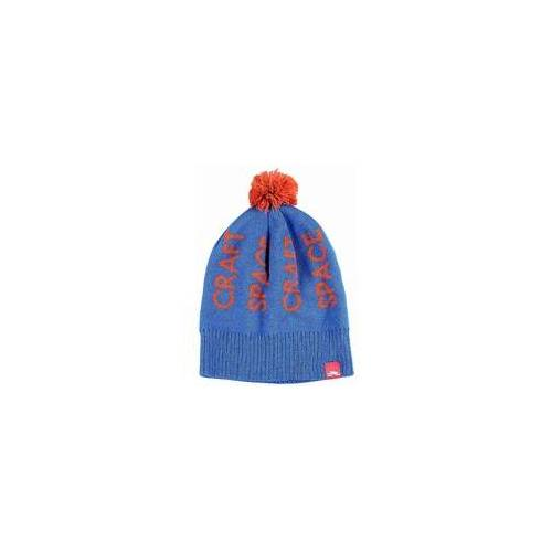 Spacecraft Beanie SPACECRAFT - Typography Pom Med Blue (MB)