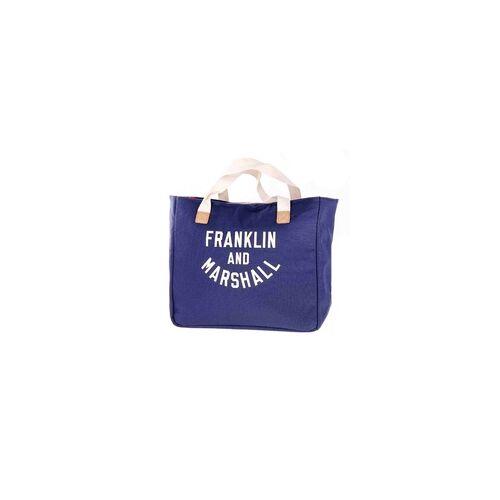 Marshall Tasche FRANKLIN & MARSHALL - Varsity shopper - dark blue solid (25)