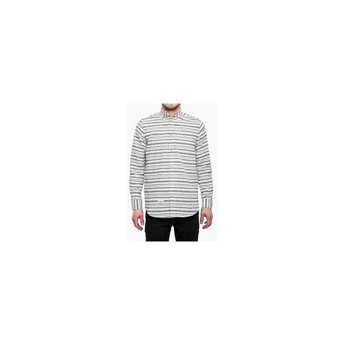 REELL Hemd REELL - Striped Shirt White/Blue (WHT/BLU) Größe: M