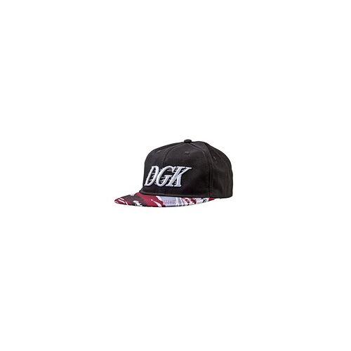 DGK Cap DGK - Fastbreak Snapback Black (BLACK)