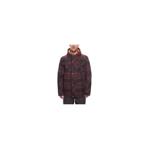 686 Jacke 686 - Woodland Insl Jkt Rusty Red Plaid (RUS)