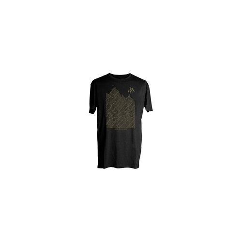 Jones Tshirt JONES - Verbier Tee Plain Black (BLACK)