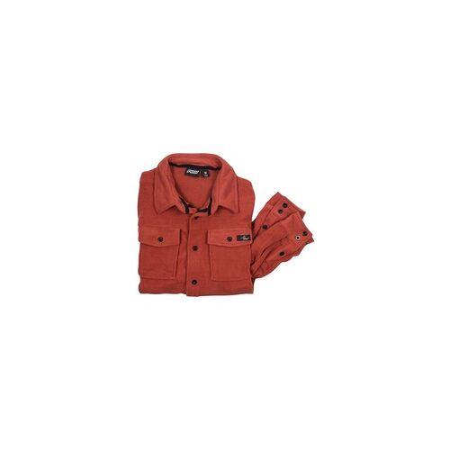 Pow Hemd POW - Main Street Microfleece Shirt Hot Sauce (HS)