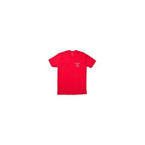 Supra Tshirt SUPRA - Trademark Ss Red (600)