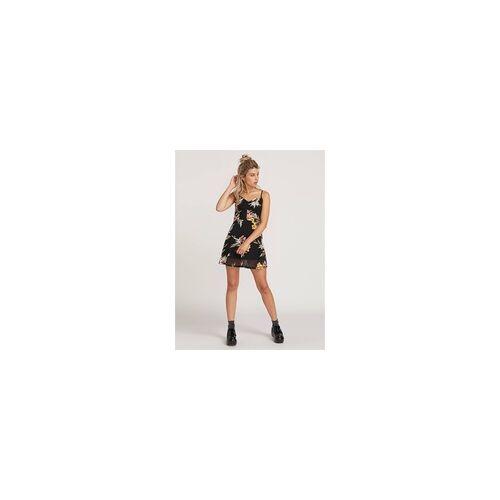 Volcom Kleid VOLCOM - Slushy Hour Dress Black Combo (BLC) Größe: L