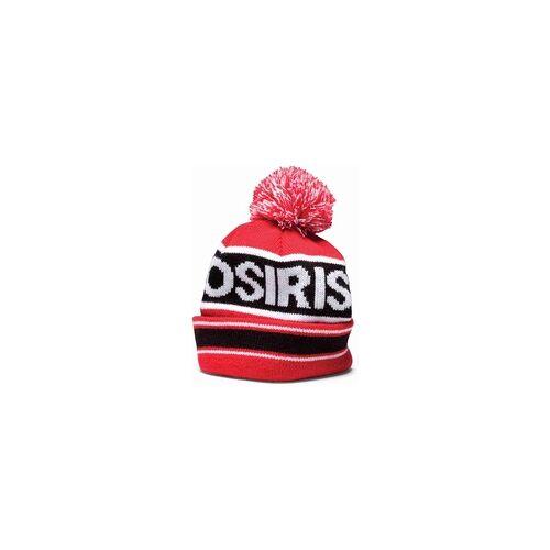 OSIRIS Beanie OSIRIS - Pom Pom Beanie Red/Blk (A132)