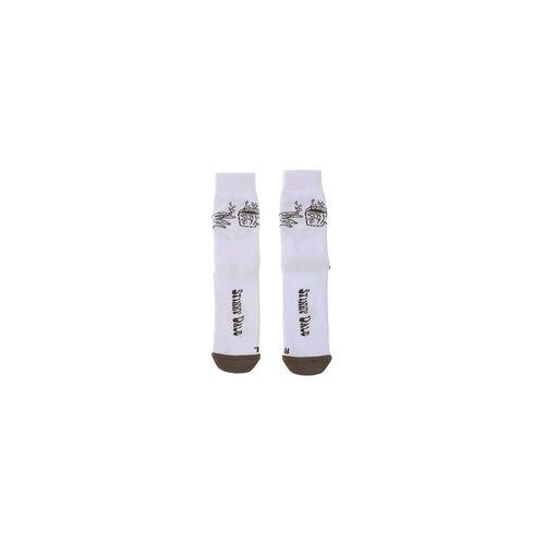 Stinky Socken STINKY - Strange Brew Stinky Dale White/Grey (WHITE/GREY) Größe: L/XL