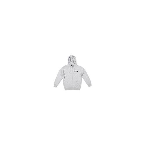 Thrasher Sweatshirt Thrasher - Logo Zip Hood (GRY)