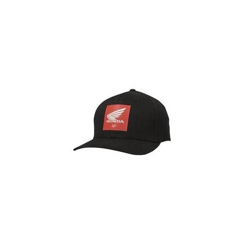 Fox Cap FOX - Honda Flexfit Hat Black (001)