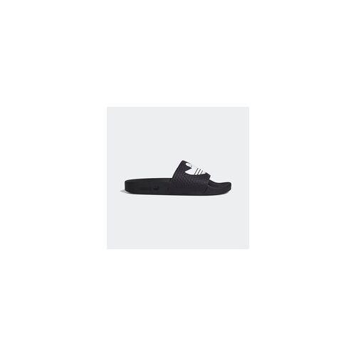 Adidas Hausschuhe ADIDAS - Shmoofoil Slide Core Black/Ftwr White/Ftwr White (CORE BLACK-FTWR WHIT) Größe: 4