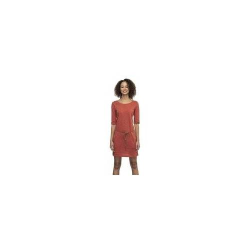 Ragwear Kleid RAGWEAR - Tanya Slub Terracotta (TERRACOTTA) Größe: L