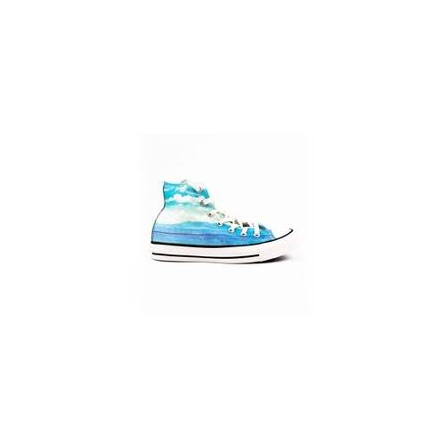 Converse Schuhe CONVERSE - CT AS Spray Paint Blue/Motel Pool/Eg (SPRAY PAINT BLUE/MOT) Größe: 36.5