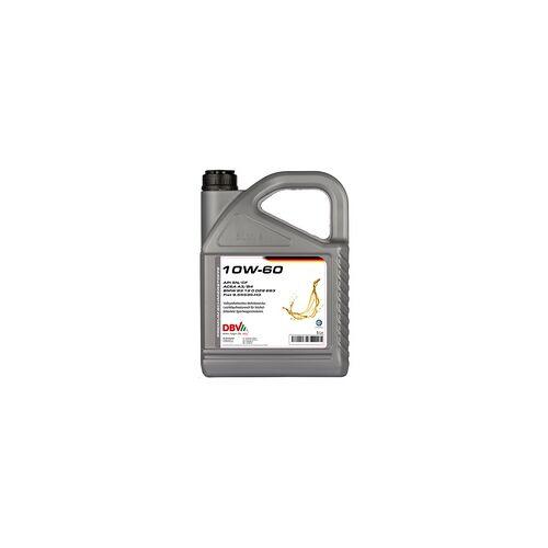 DBV Motoröl Leichtlauf Motoröl DBV synthetisch 10W-60 5 Liter
