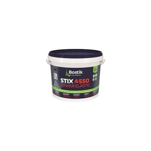 Bostik Gmbh Bostik Stix A550 Power Elastic PVC-Lino-Vinyl Belag Kleber Klebstoff 6kg Eimer