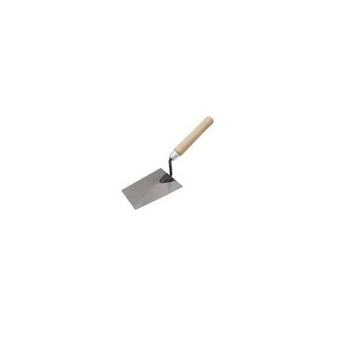 Hufa Fliesenkelle Stahl Süddeutsche Form Holzgriff 160mm