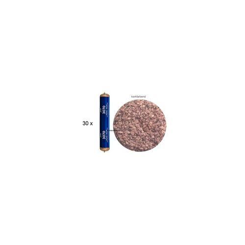 Bostik Gmbh 30 x Bostik 3070 Spritzkork korkfarbend 1K Kork Dichtstoff 500ml Beutel