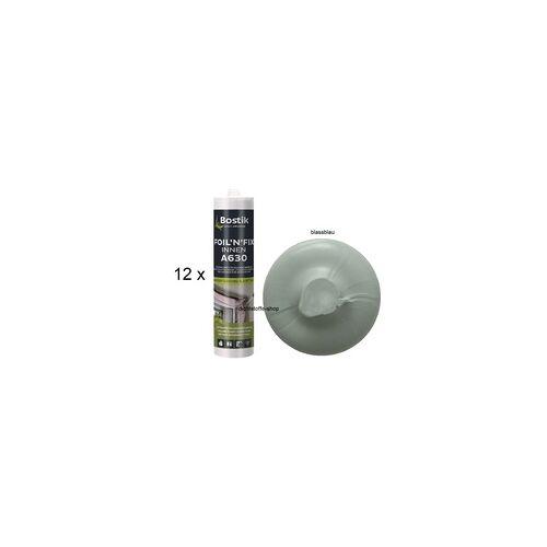 Bostik 20 x Bostik Folien Kleber blassblau 1K Dispersionsklebstoff 315g 290ml Kartusche