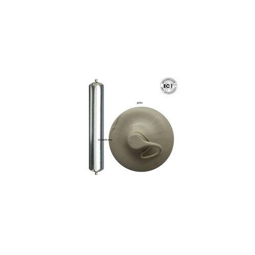 Ramsauer 160 Acryl grau 1K Acryl Dichtstoff 600ml Folienbeutel