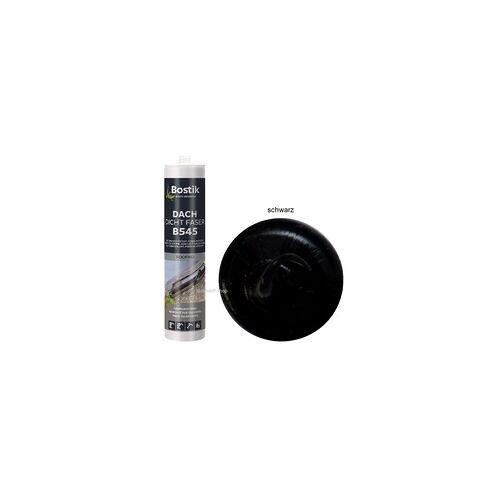 Bostik B545 Dach Dicht Faser schwarz 1K Bitumen Dichtstoff 300ml Kartusche