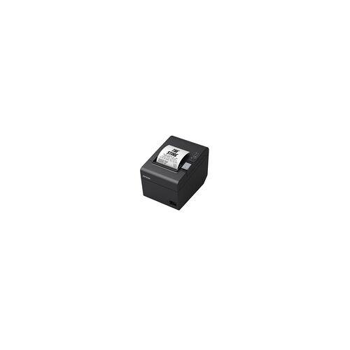 Epson TM-T20III - Bon-Thermodrucker mit Abschneider, 80mm, Druckgeschwindigkeit 250mm/Sek., USB + RS232, schwarz