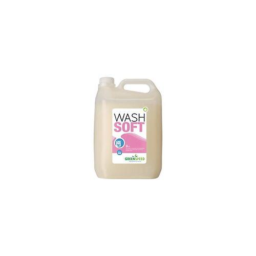 GREENSPEED by ecover Weichspüler Wash Soft Blumig 5 L