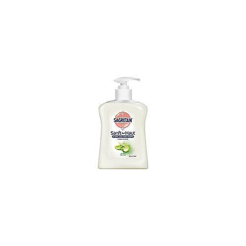 Sagrotan Flüssigseife Sanft zur Haut Aloe Vera 250 ml