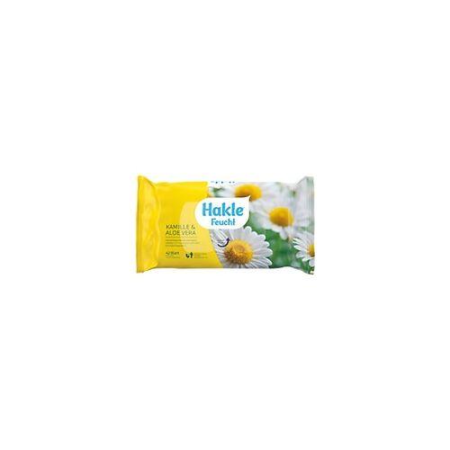 Hakle Feuchtes Toilettenpapier Kamille & Aloe Vera 1-lagig 42 Blatt
