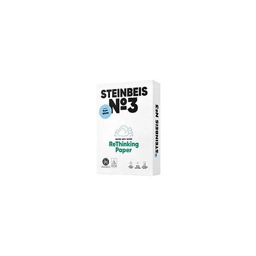 Steinbeis Nr. 3 100% Recycling Kopier-/ Druckerpapier DIN A3 80 g/m² 110 CIE 500 Blatt