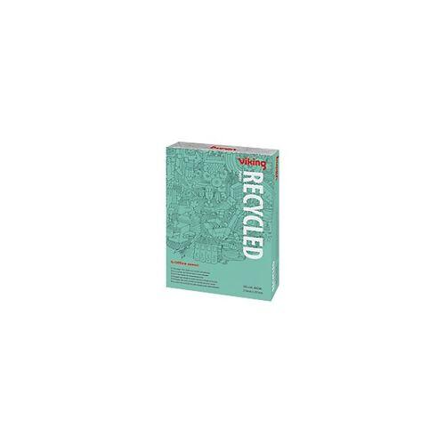 Viking 100% Recycling Kopier-/ Druckerpapier DIN A4 80 g/m² Weiß 58 CIE 500 Blatt