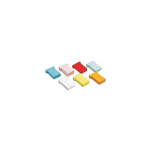 Jalema T-Steckkarten A5548-222 Rot 6 x 8,5 cm 100 Stück