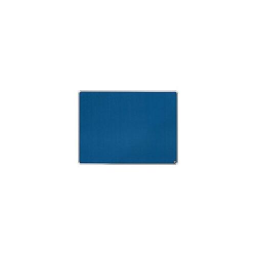 Nobo Pinnwand Premium Plus Filz Blau 120 x 90 cm